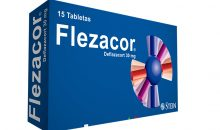 Flezacor 15 tabletas 30 mg