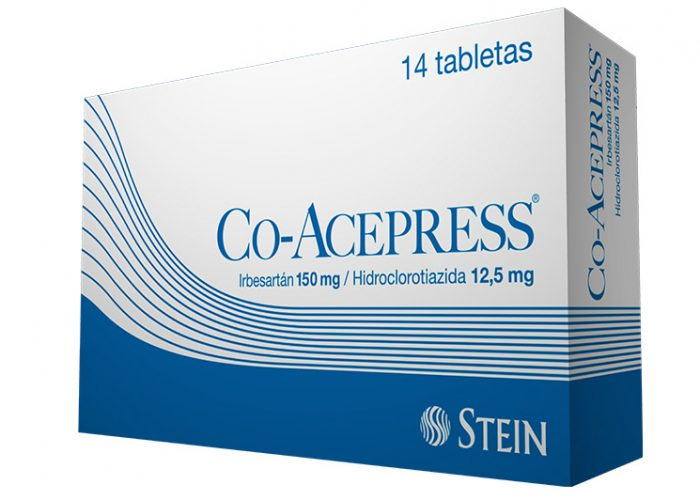Co Acepress 150mg 14 tabletas