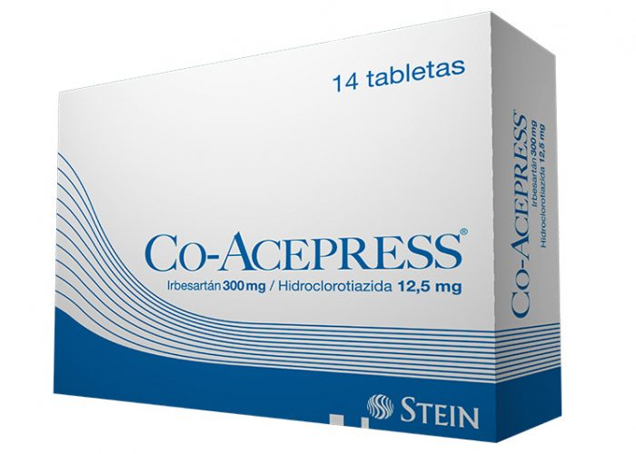 Co Acepress 300mg 14 tabletas